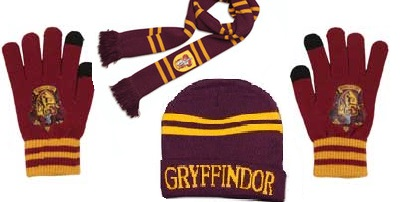 Harry Potter Hat gloves and scarves