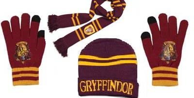 Harry Potter Hat gloves and scarves